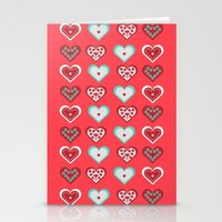 valentine Stationery Cards featuring Valentine by Heaven7