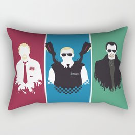 Blood & Ice Cream Rectangular Pillow