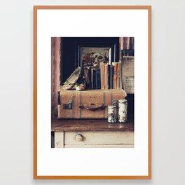 Suitcase Framed Art Print