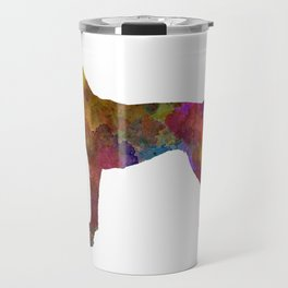 German Shorthaired Pointer in watercolor Travel Mug