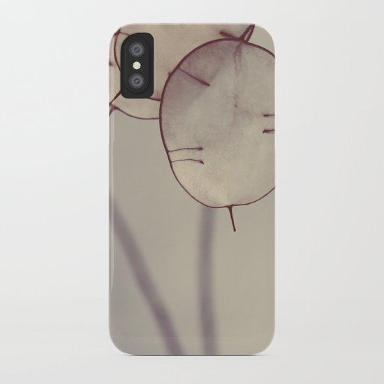 There is a Light iPhone Case