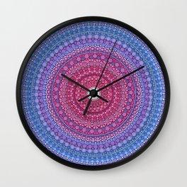 Keeping a Loving Heart Mandala Wall Clock