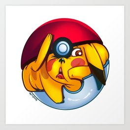MonGo Ball Art Print