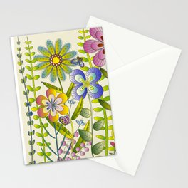Petty Flowers Pattern 2 Stationery Cards
