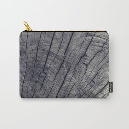 Vintage Wood Texture Carry-All Pouch
