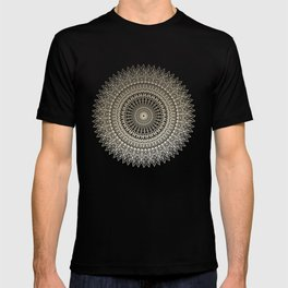 GOLDEN SUN MANDALA T-shirt