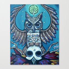 The Owl's Alter Canvas Print