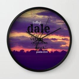 Dale Wall Clock