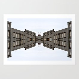 Architectural Horizon Art Print