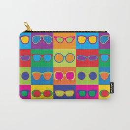 Pop Art Eyeglasses Carry-All Pouch
