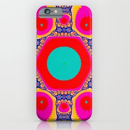 Halley The Fractal iPhone Case