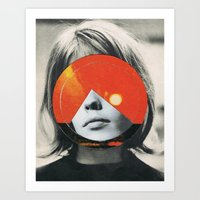 girls Art Prints featuring girls by Hugo Barros