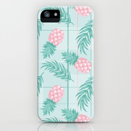 Minth Pastel Pineapple iPhone Case