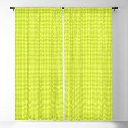 Fresh Lime Grid Blackout Curtain