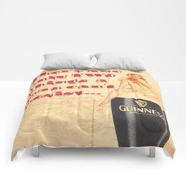 Guinness - Vintage Beer Comforters