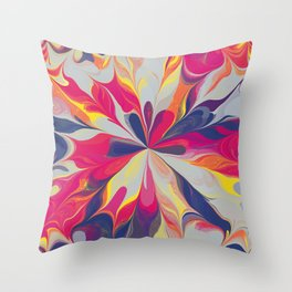 Mandala flower 02 Throw Pillow