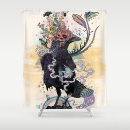You are Free to Fly Shower Curtain