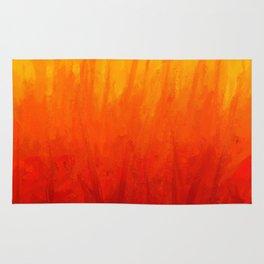 Fire and Liquid Sunshine Rug