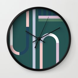 The Introduction Series #10 Wall Clock