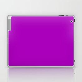 Heliotrope magenta Laptop & iPad Skin