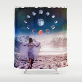 Cloud Walker Shower Curtain