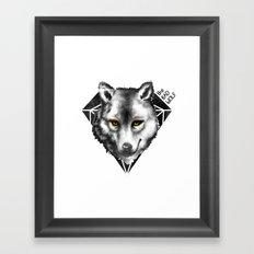 The Bad Wolf Framed Art Print