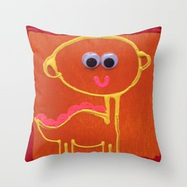 Classic Dino Throw Pillow