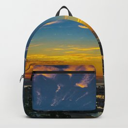 Dawn over Dana Point Backpack