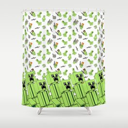 Lia 4 Shower Curtain
