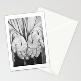Jesus Hands Stationery Cards