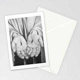Jesus Hands Stationery Cards