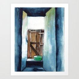 The 100th House  Art Print