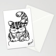 Unlikely Friends :: Cat & Mouse Stationery Cards
