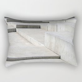 concrete geometry - modernist abstract 4 Rectangular Pillow