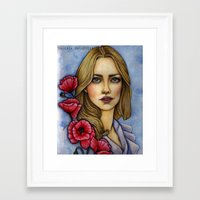 "les miserables Framed Art Prints featuring ""Les Miserables"" by musentango87"