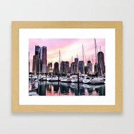 Chicago Summer Framed Art Print