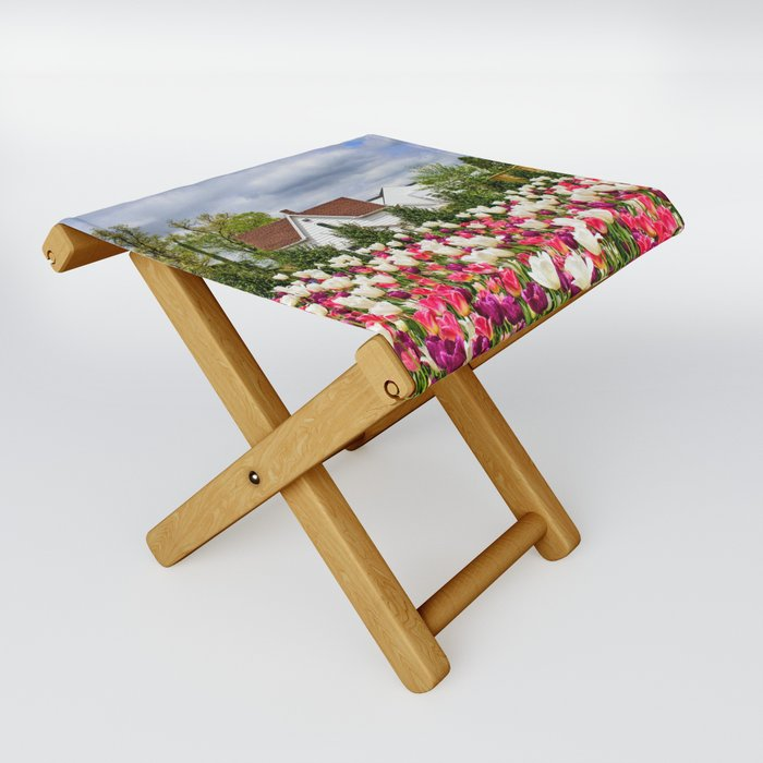 Color in My Backyard Folding Stool