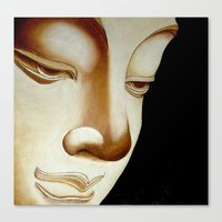 buddha Canvas Prints featuring Buddha by Joe Pansa