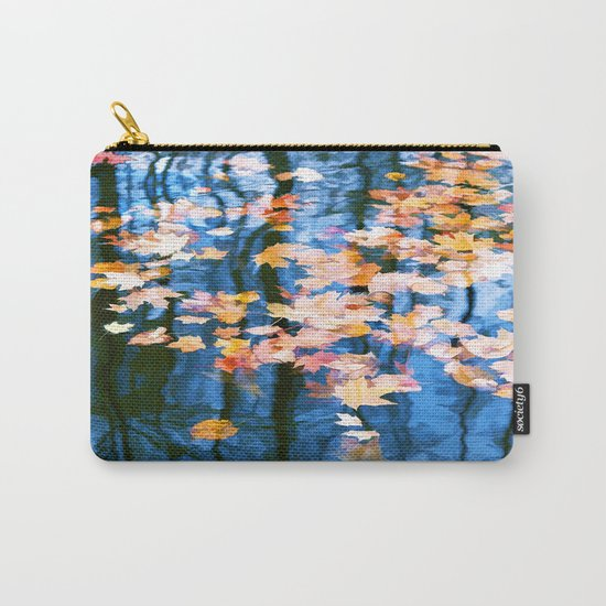 Fallen leaves in water Carry-All Pouch