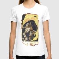 tarot T-shirts featuring moon tarot by jessica krcmarik