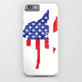 Judo Gi USA Flag American Inside Me  Japanese Martial Arts iPhone Case