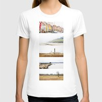 denmark T-shirts featuring Denmark by Delphine Comte
