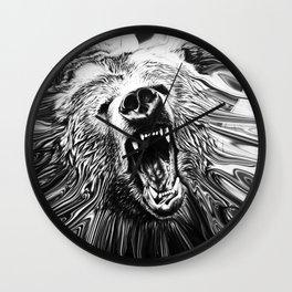 Bear Roar Wall Clock