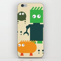 Robots iPhone & iPod Skin