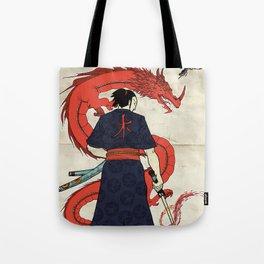 Ronin and Dragoon Tote Bag