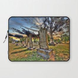 Tombstones at Twilight Laptop Sleeve