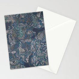 Under the surface lies the truth. Stationery Cards