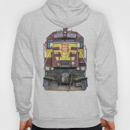 Wisconsin Central Ltd Engine 7525 Operation Lifesaver Livery Train Hoody