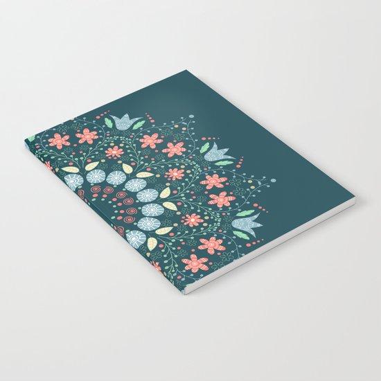 Flower wind Notebook