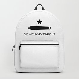Texas Come and Take It Flag Backpack